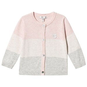 Image of Livly Cardigan Pink/Grey 9-12 Months (3140443727)