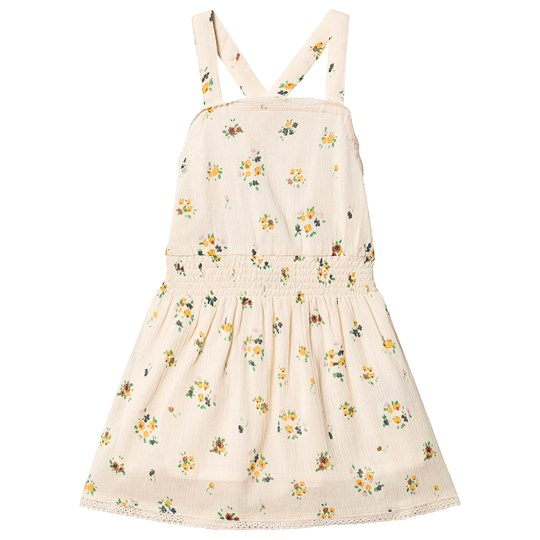 Emile et Ida Lace Seersucker Dress Fleuri FLEURI