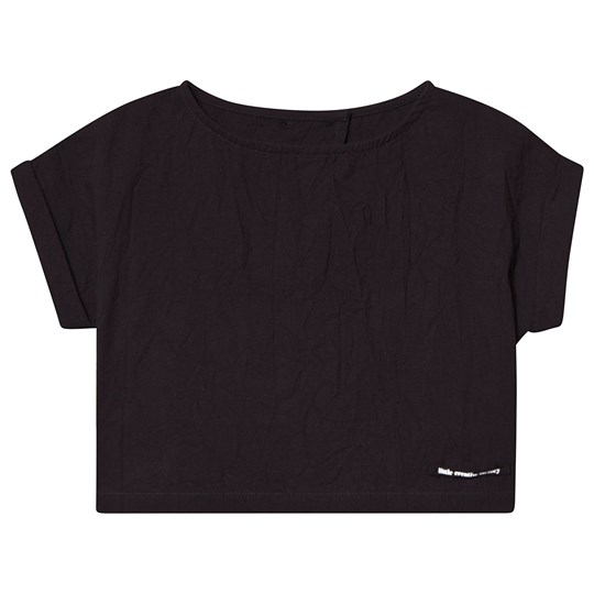 Little Creative Factory Black Open Back Washi Top Black