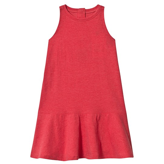 The BRAND BEACH DRESS RED MELANGE