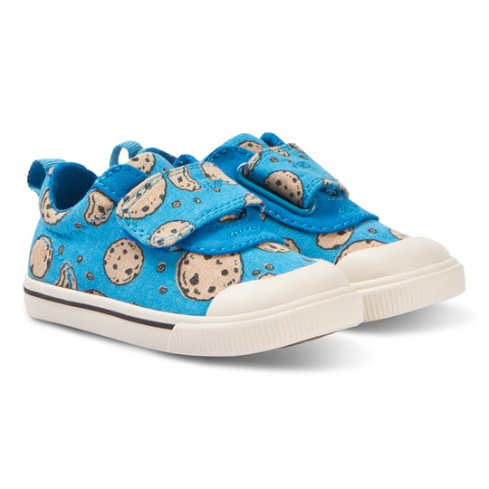 ca36446111f Toms - Blue Doheny Sesame Street Strap Trainers - Babyshop.com