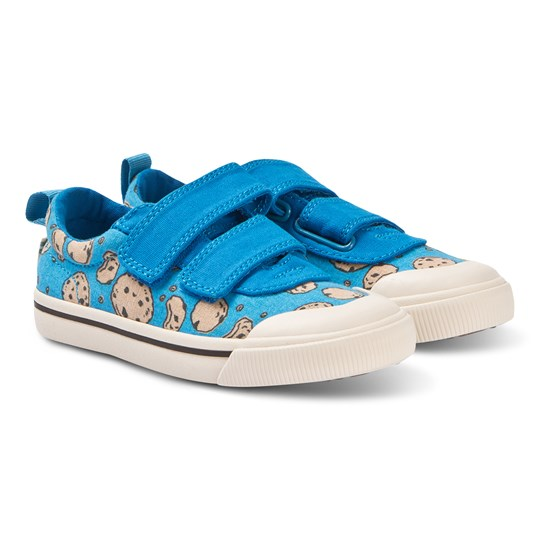 Toms Blue Doheny Sesame Street Straps Trainers Blue
