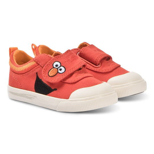 Toms Red Elmo Velcro Doheny Trainers Red