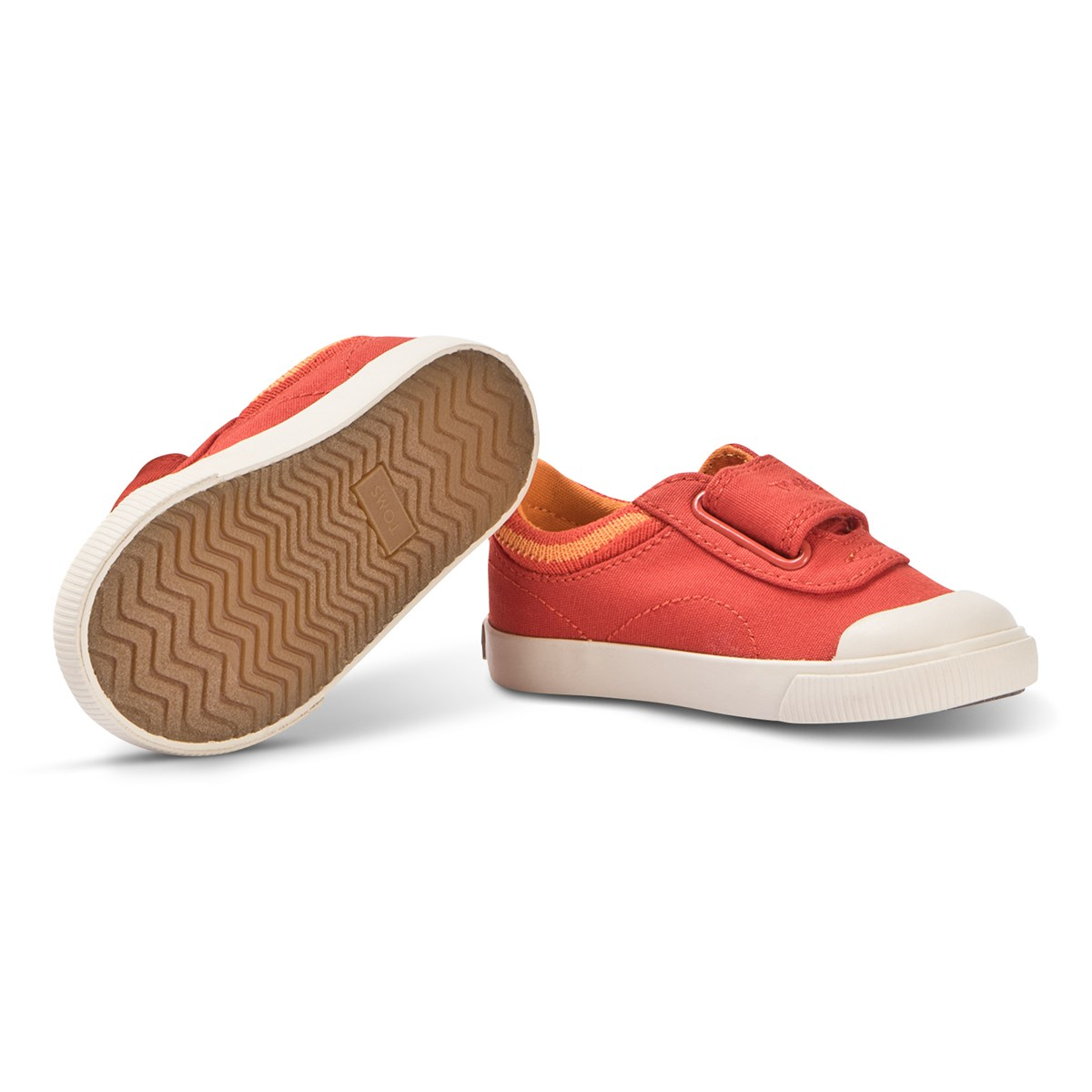 48ff56d380f Toms - Red Elmo Velcro Doheny Trainers - Babyshop.com