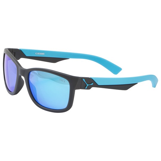 Cebe Grey with Blue Lense Avatar Sunglasses SOFT TOUCH GREY BLUE