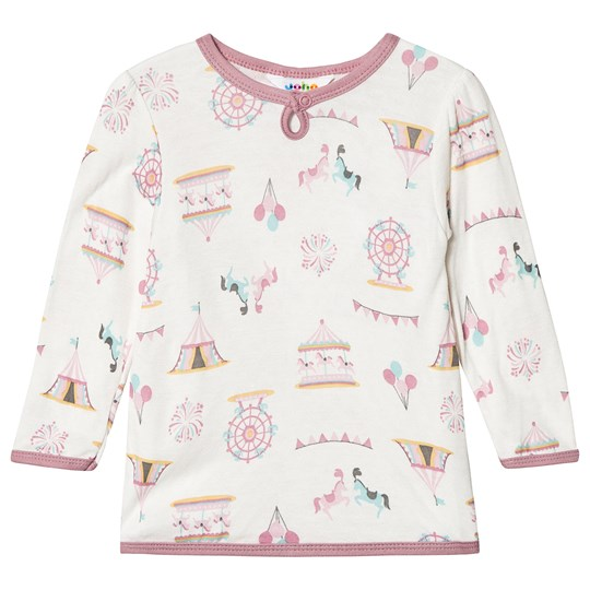 Joha A-shape Blouse Merry go Purpel Merry go Purpel