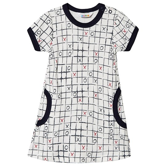 Joha Dress w/short sleeves Tic-Tac-Toe Tic-Tac-Toe