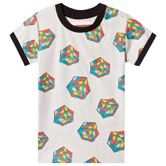 nadadelazos T-Shirt Rubik Cubes Light Seagull Grey Light Seagull Grey