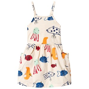 Image of nadadelazos Dress Mediterranean Fishes Light Skin Beige 8-10 år (3142529227)