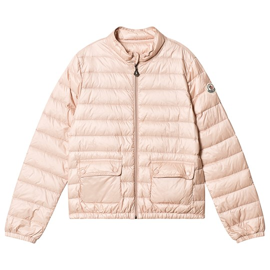Moncler Pale Pink Lans Quilted Down Jacket 50B
