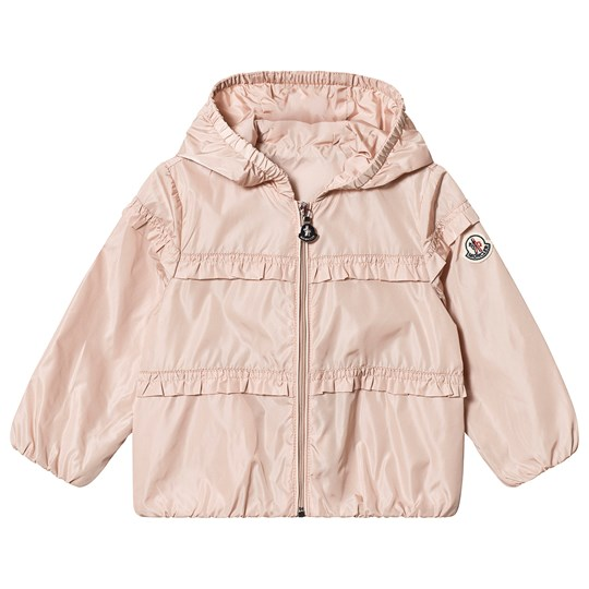 Moncler Pale Pink Hiti Frill Hooded Windbreaker 50B