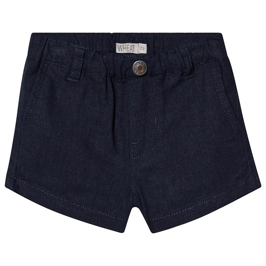 Wheat Shorts Vilfred Navy Navy