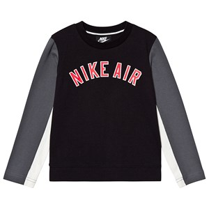 Image of NIKE Air Long Sleeve Tee Black 2-3 years (3143207815)