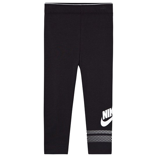 NIKE Black Futura Logo Leggings 023