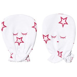 Image of Livly Baby Mittens Pink Stars (3143208681)