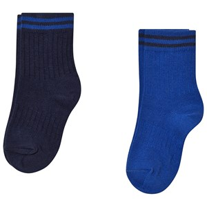Image of MP 2-Pack Brussels Socks Cobalt Blue 2 (22/24) (3143208395)