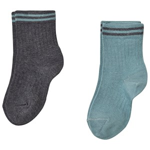 Image of MP 2-Pack Brussels Socks Stormy Sea 2 (22/24) (3143208403)