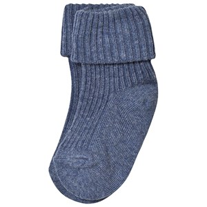 Image of MP Baby Ankle Socks Denim Marled 000 (15/16) (3143208565)