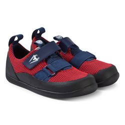 Clarks Red Play Web Shoes
