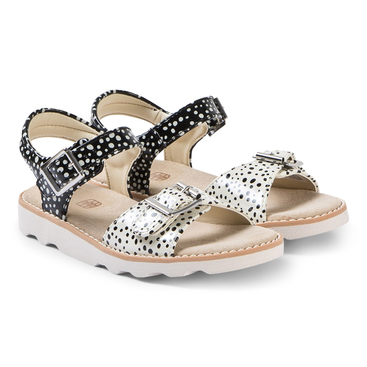 Clarks Black Interest Crown Bloom Sandals Babyshop.dk