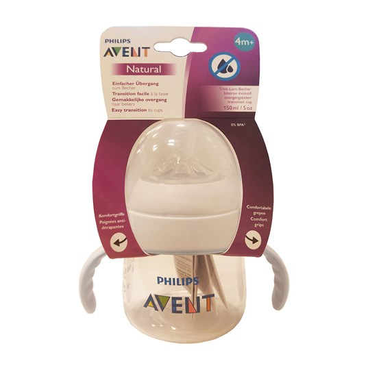 Philips Avent Natural Pipmugg 150 ml TRANSPARENT