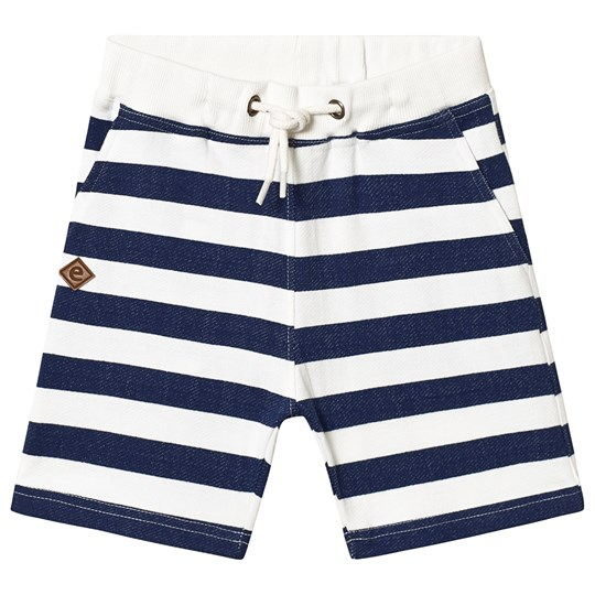 ebbe Kids Orso Sweat Shorts Blue Stripes Blue Stripes