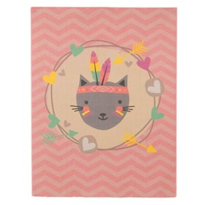 Image of Associated Weaver Feather Cat Mat Pink/Grey (3148257277)