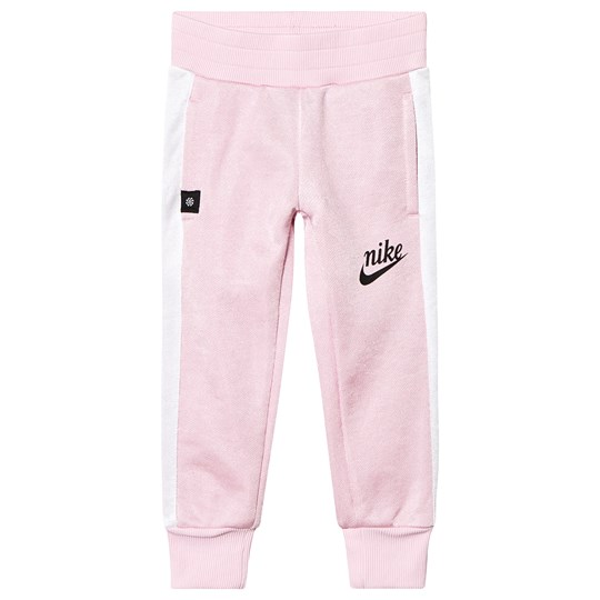 NIKE Pink Shiny French Terry Icon Pants A9Y