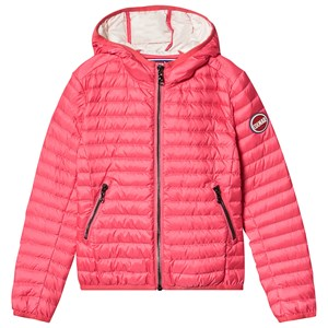 Image of colmar Lightweight Hooded Down Jacket Coral Pink 10 years (3144406197)