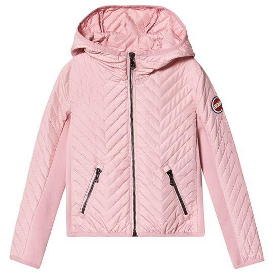 Colmar Baby Pink Padded Lightweight Fitted Hooded Jacket 396 HULA HOOP