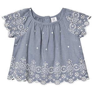 Image of GAP Broderie Top Chambray 2 år (1341825)