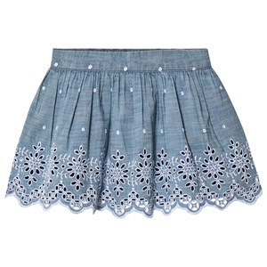 Image of GAP Chambray Eyelet Skirt XS (4-5 år) (3144405747)