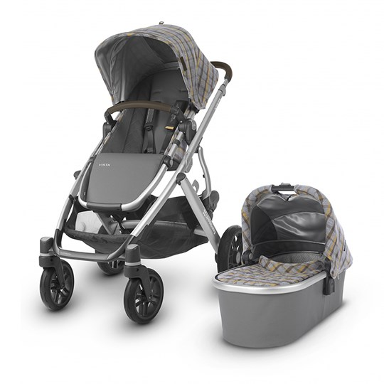 UPPAbaby Vista Stroller Spencer Grey Yellow Spencer
