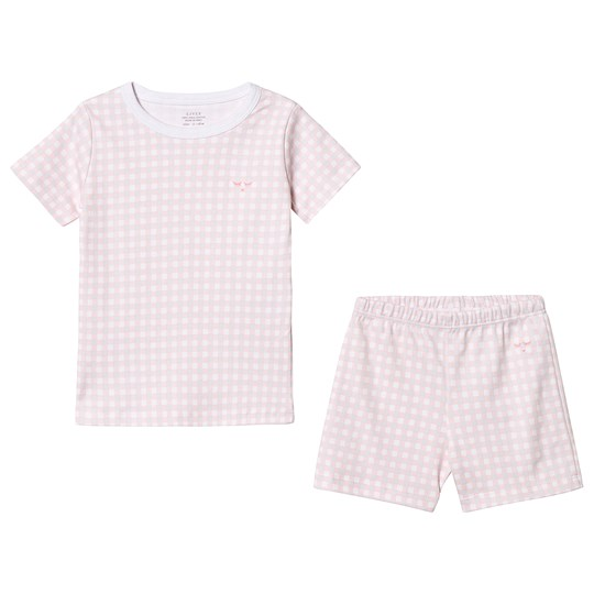 Livly Summer Set Pink Plaid Pink Plaid