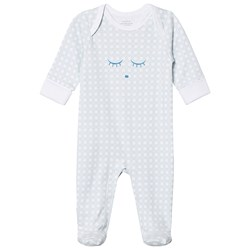Livly Cover Footie Blue Plaid