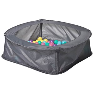 Image of iPLAY Ball Pit with 100 Balls Grey/Pastel 3+ years (3144405815)