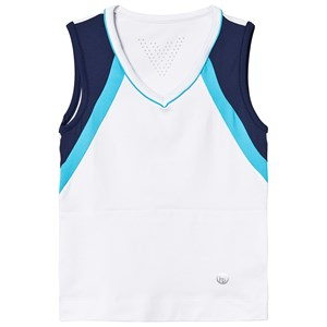 Image of Poivre Blanc Hvide/Navy Tennis Tank Top med V-hals 14 years (1322088)