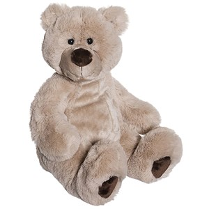 Image of Teddykompaniet Alfred Teddy Bear Brown Large 45cm 0 - 6 år (3144406379)