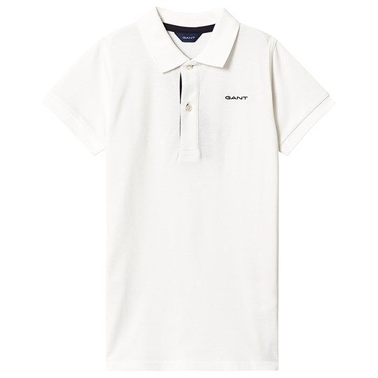 GANT White Gant Icon Polo 113