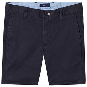 Image of GANT Branded Chino Shorts Navy 122-128cm (7-8 years) (3145066507)