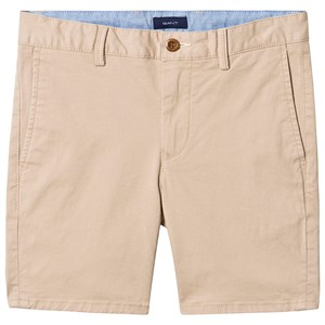 Image of GANT Branded Chino Shorts Sand 122-128cm (7-8 years) (3145066509)