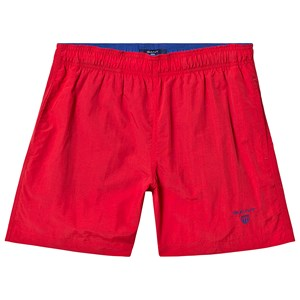 Image of GANT Branded Swim Trunks Red 122-128cm (7-8 years) (3145069181)