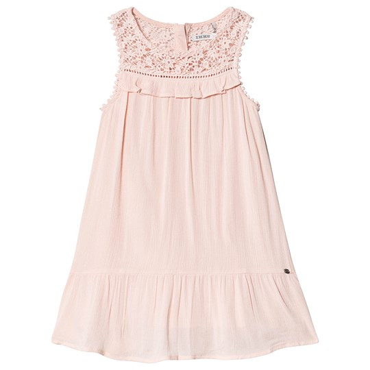 IKKS Pink Frill Sleeveless Dress 32