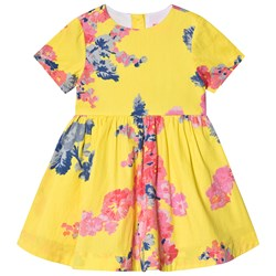 Tom Joule Yellow Floral Print Woven Dress