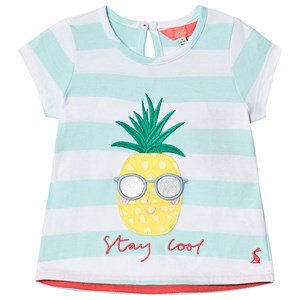 Image of Tom Joule Astra Tee White and Aqua 1 year (3145067363)