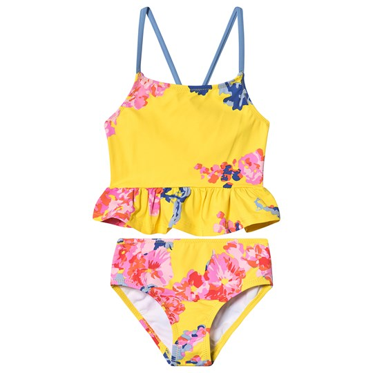 9856c759fe Tom Joule - Yellow Floral Peplum UV Protected Tankini Set - Babyshop.com