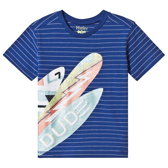 Hatley Surf Dude Graphic Tee BLUE SURF BOARDS