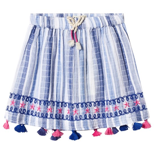 Hatley Star Trim Kjol Blå BLUE STAR TRIM