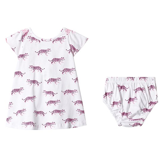Hatley Tropical Tigers Baby Flutter Sleeve Dress TROPICAL TIGERS