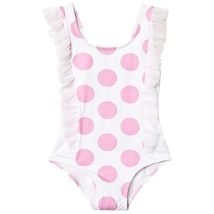 Image of MC2 St Barth Cathy Swimsuit Pink and White 1 year (3145069453)